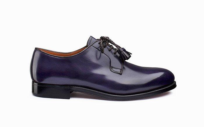 Derby calzature di lusso Massimo Melchiorri
