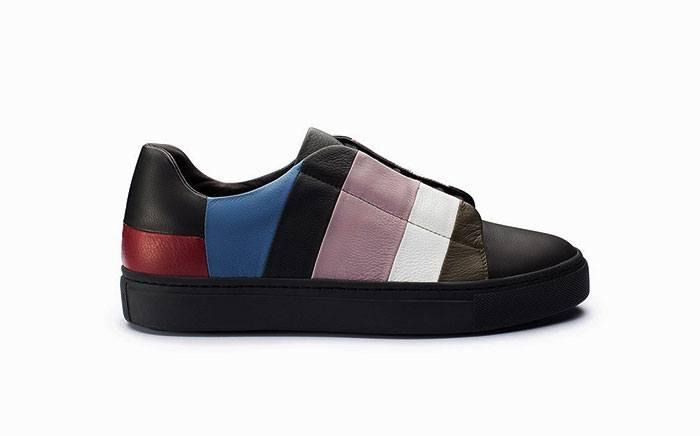 Sneakers stringata multicolor donna