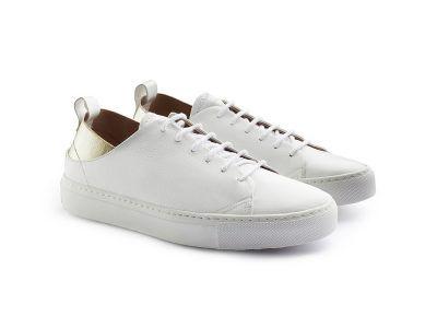 sneakers bianca donna Massimo Melchiorri