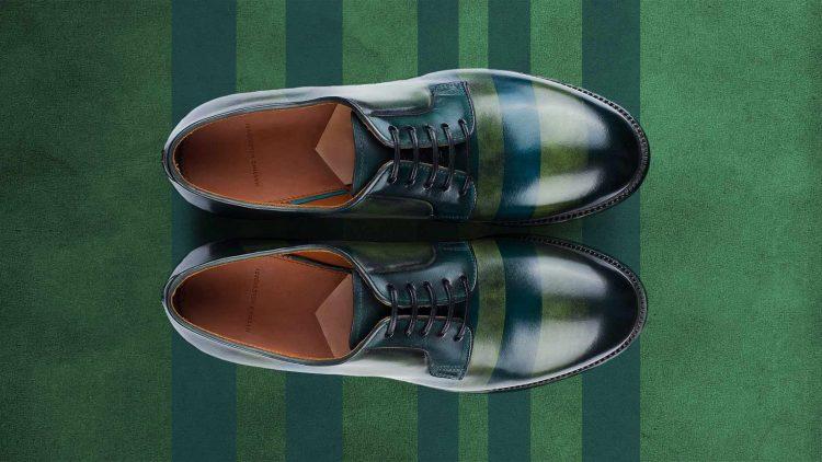Derby calzatura  donna lusso Massimo Melchiorri blog