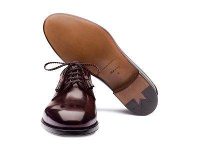 Derby lusso calzatura uomo Massimo Melchiorri