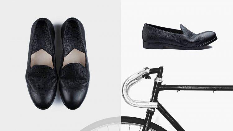 calzature lusso destrutturata Massimo Melchiorri
