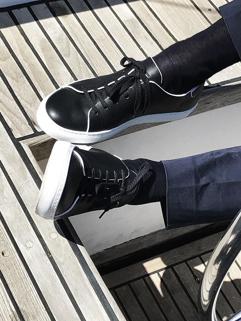 Elementi casual diventano esclusivi.エレメントカジュアル. Sneakers lusso uomo Massimo  Melchiorri dfadba386ed