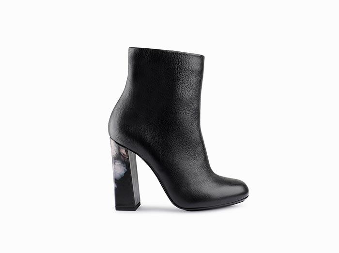 Stivale basso donna calzatura di lusso Massimo Melchiorri