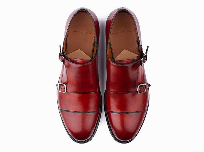 Derby Monkstrap rubino