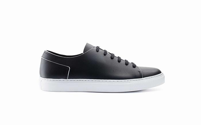 Sneakers minimal lusso Massimo Melchiorri