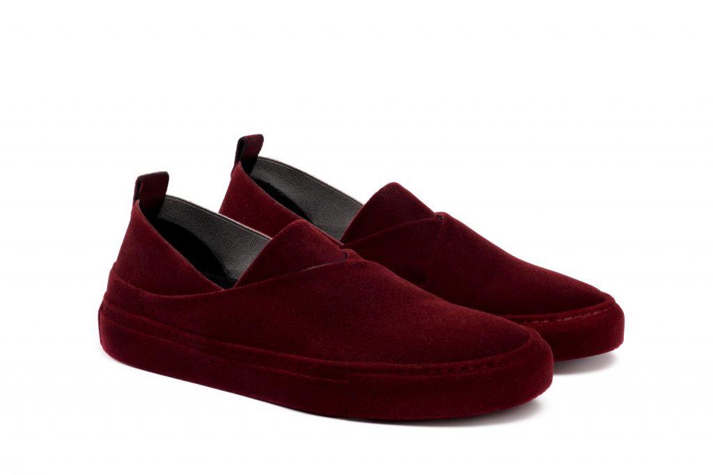 sneakers tokyo floccata bordeaux Massimo Melchiorri