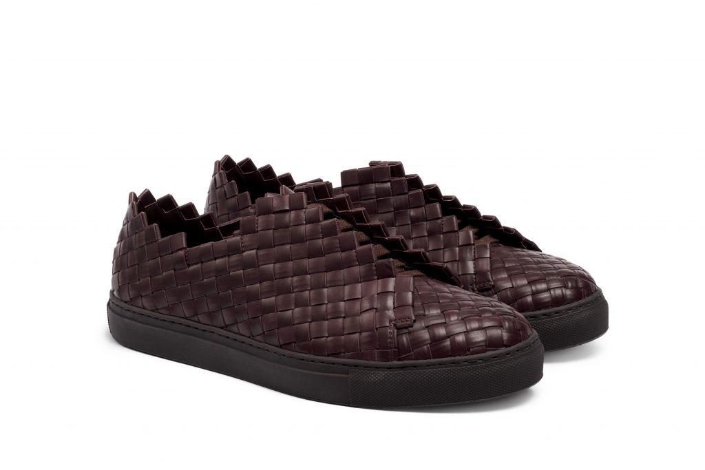 sneakers papeete bordeaux Massimo Melchiorri