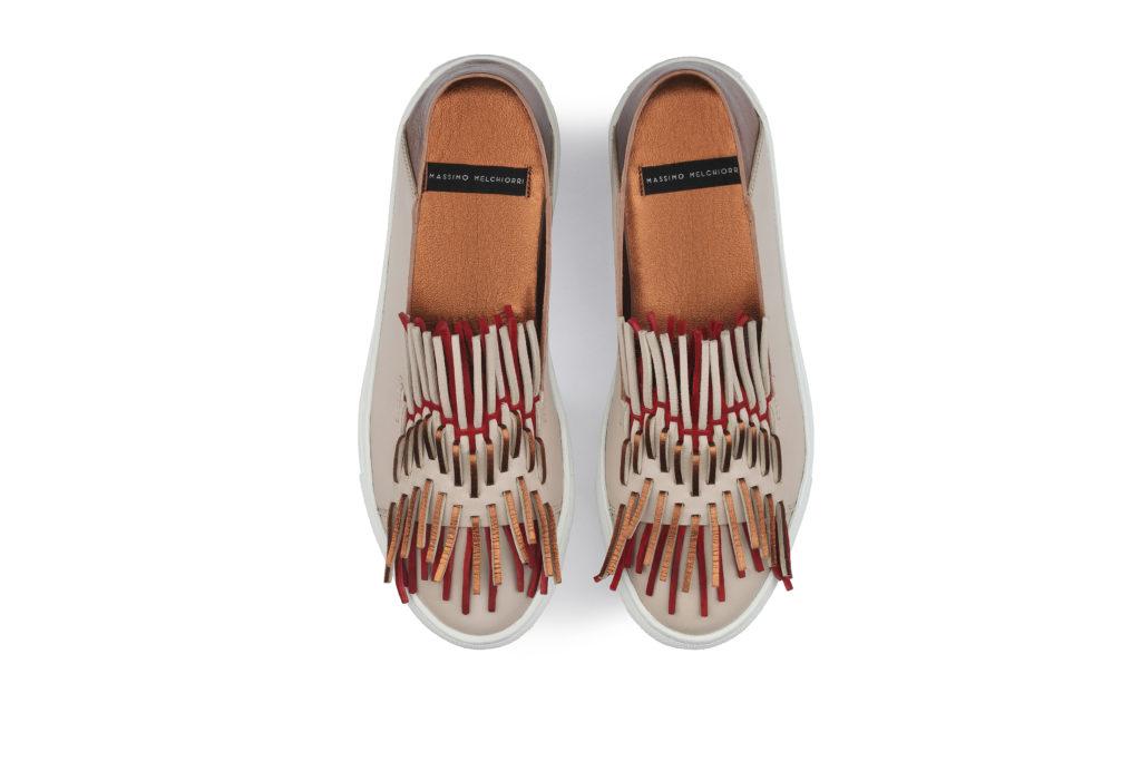 sneakers donna regina rosa Massimo Melchiorri