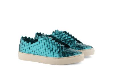 sneakers donna papeete turchese Massimo Melchiorri