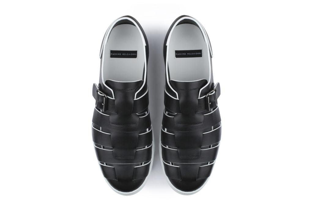 sandalo panama uomo Massimo Melchiorri