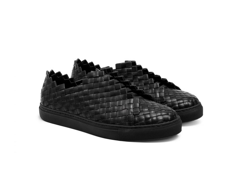 Men's sneakers // Black Papeete